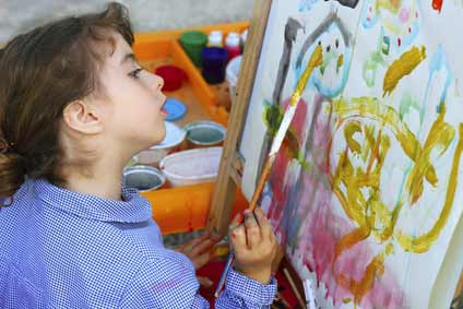 The Young Artist - where art starts!